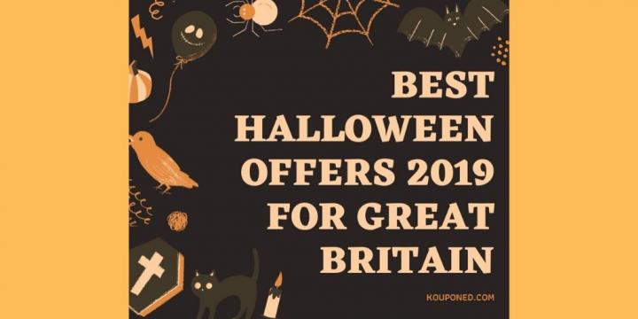 Best Halloween Offers 2019 For Great Britain
